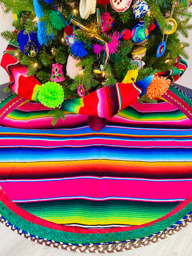Sarape Christmas Tree Skirt