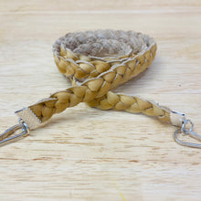 Facemask String Holders - Braided Suede