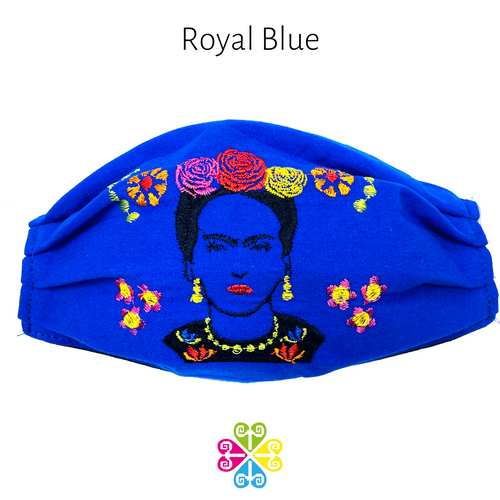 Tehuana Frida Embroider Facemasks- WOMEN