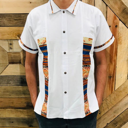 Men Coralillo Shirt- Double Lines