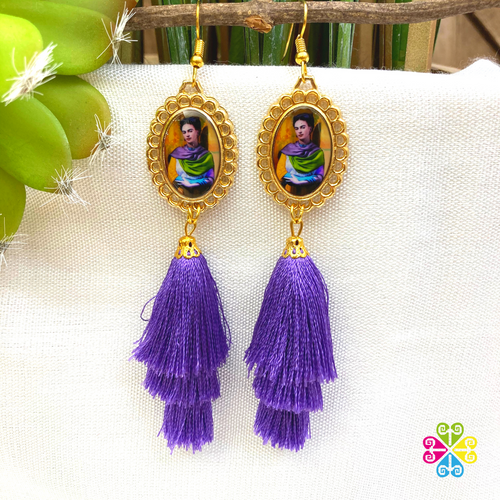 Medium Frida Artisan Earrings