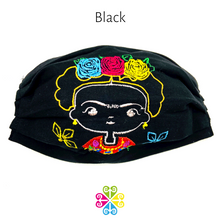 Tehuana Mini Frida Embroider Facemasks- WOMEN