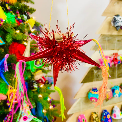 Pinata Paper Ornament
