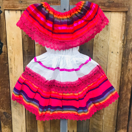 Cambray Campesino Children Dress