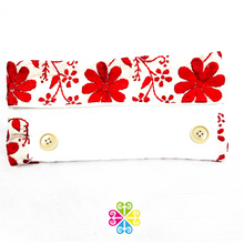 Aro Embroider  Headband with Buttons