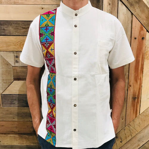 Men Guayabera - Cross Stitch