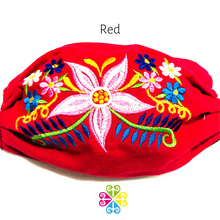 Daisy Embroider Facemasks - WOMEN