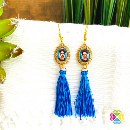 Small Frida Artisan Earrings