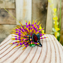 Porcupine Alebrije Handcarve Wood Decoration Figure