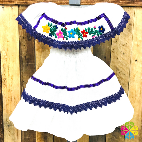 Estambre Campesino Children Dress