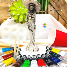 Day of The Dead Painting Kit  - Limited Edition