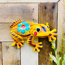 Clay Frog Decor