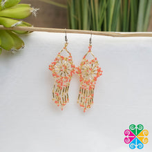 Huichol Shooting Star Earrings