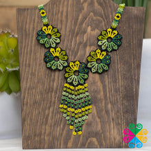 Huichol Floral Necklace
