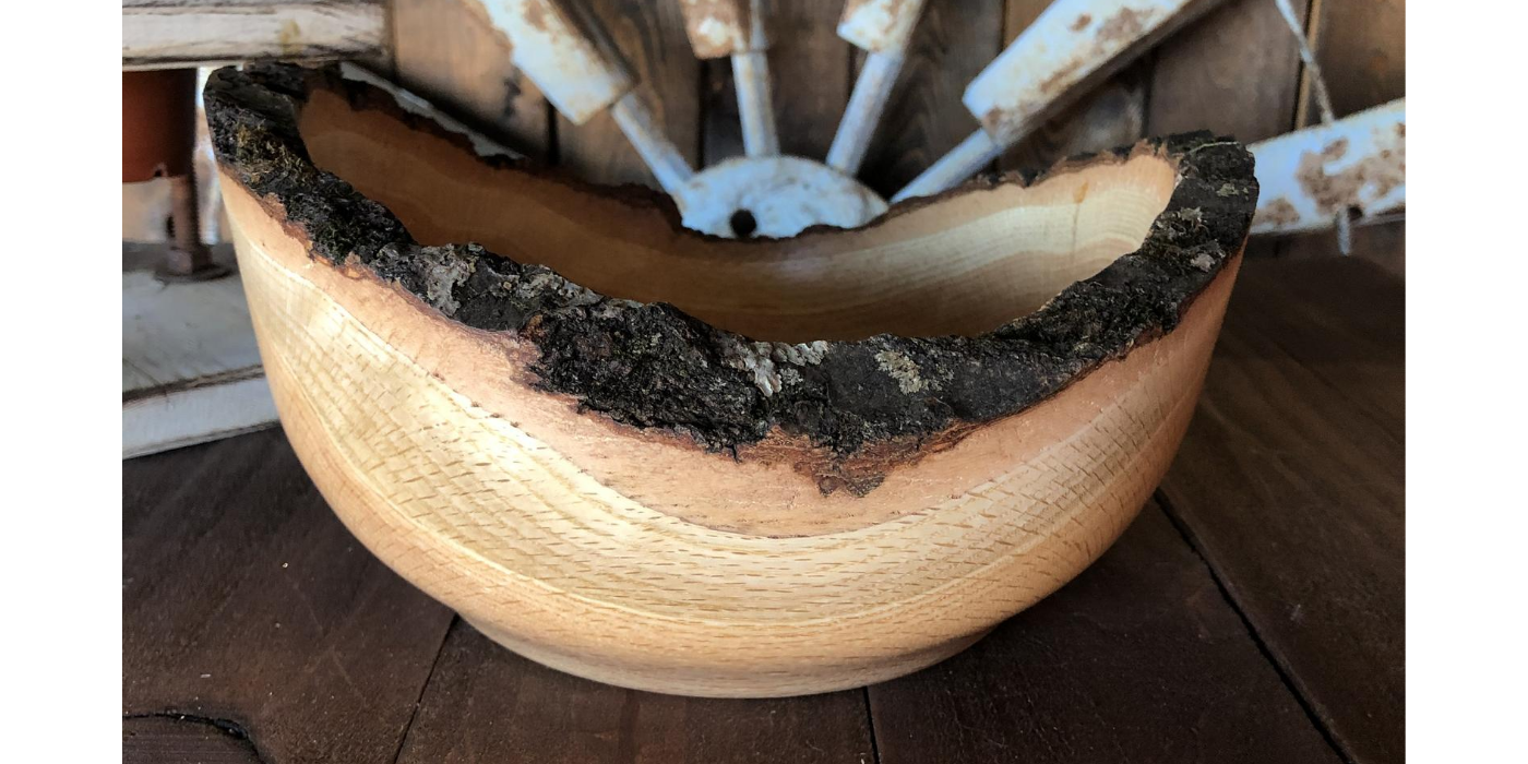 Wood Bowl - Backyard Silversmiths Artisan Find