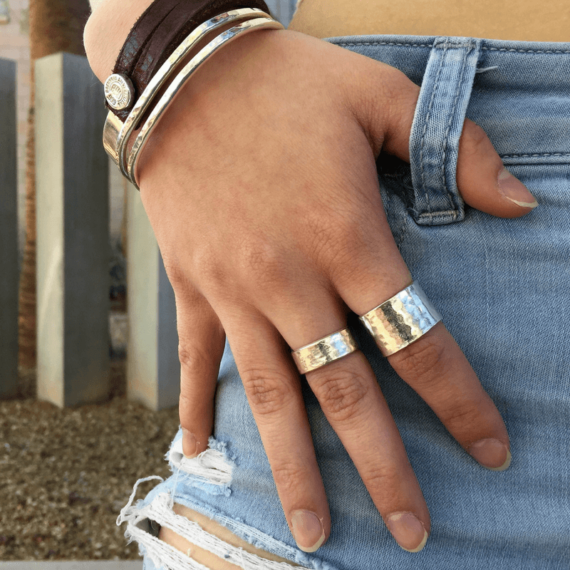 Backyard Silversmiths Rings