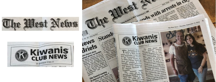 Backyard Silversmiths Jewelry in The West News