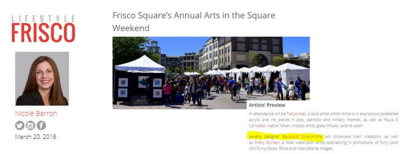 Lifestyle Frisco - Arts in the Square
