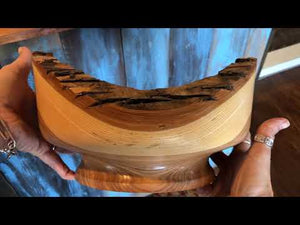 Chinese Elm Bark Bowl - Backyard Silversmiths Artisan Find