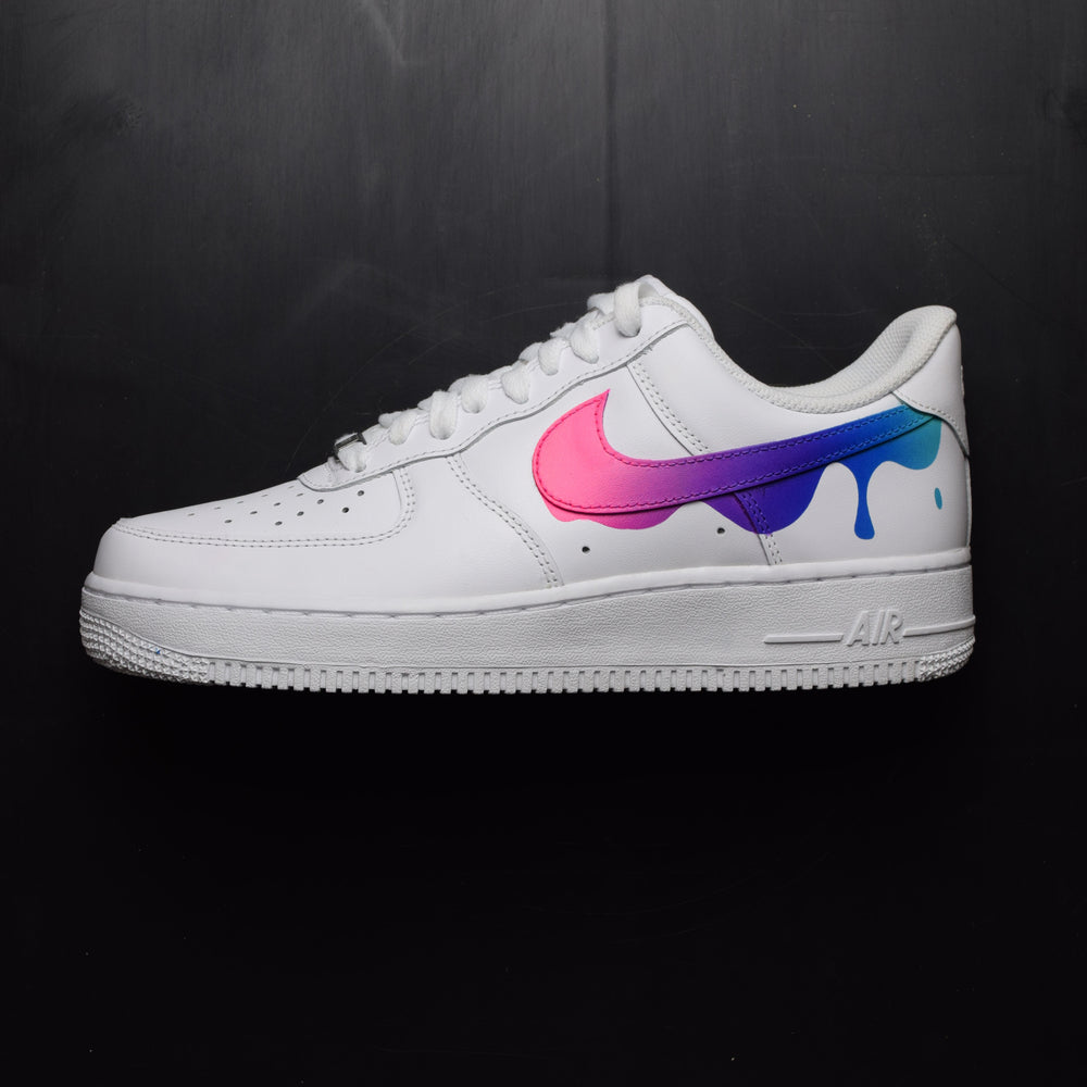 289f392de1dab Nike Air Force 1 Paint Drip Custom Shoes – TheShoeCosmetics