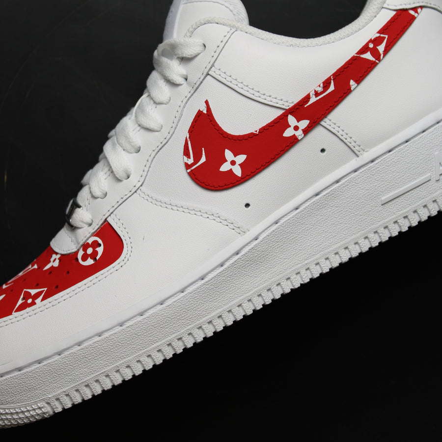 Louis Vuitton Nike Air Force 1 Custom Sneakers - LV Air Force - LV AF1