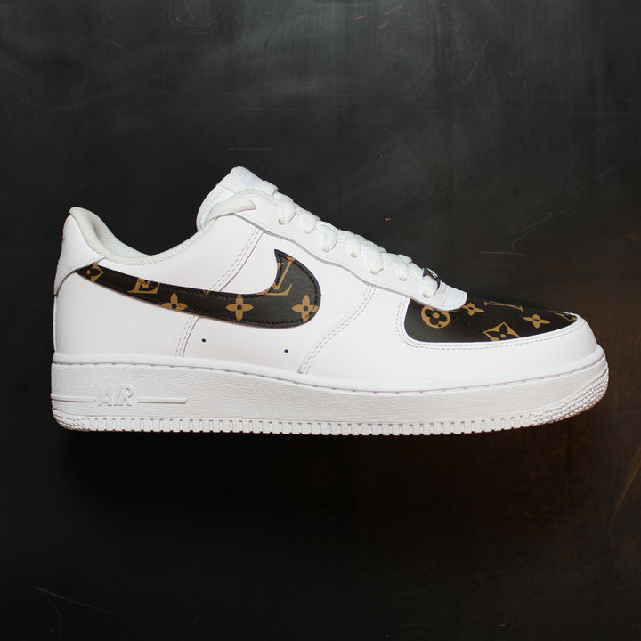 Louis Vuitton Air Force 1 Custom Sneakers Theshoecosmetics