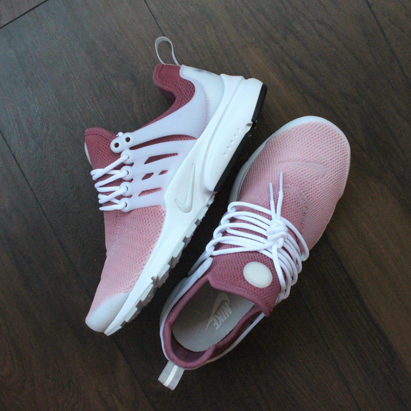 newest d6633 1800c ... reputable site ee321 90258 TheShoeCosmetics · NIKE PRESTO RED ROSE CUSTOM  SNEAKERS - OMBRE DESIGN ...