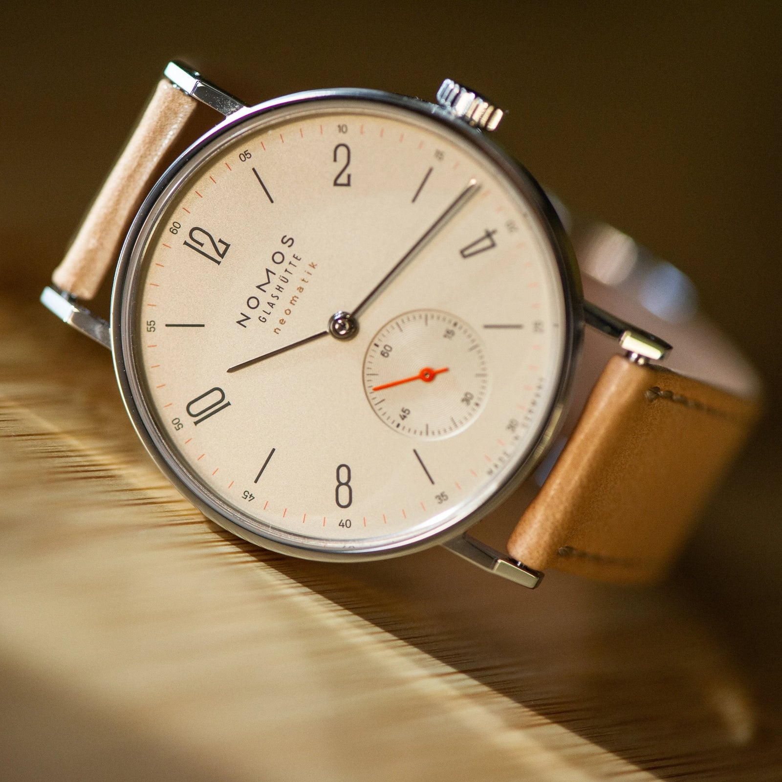 NOMOS Ref 176 Tangente Neomatik Champagner - PREOWNED