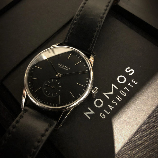 NOMOS  Orion anthazit REF: 307 PREOWNED
