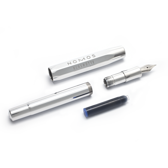 Nomos Fountain Pen - Aluminium