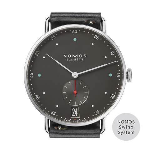 NOMOS  Orion 33 Weiss Glass Back REF: 324