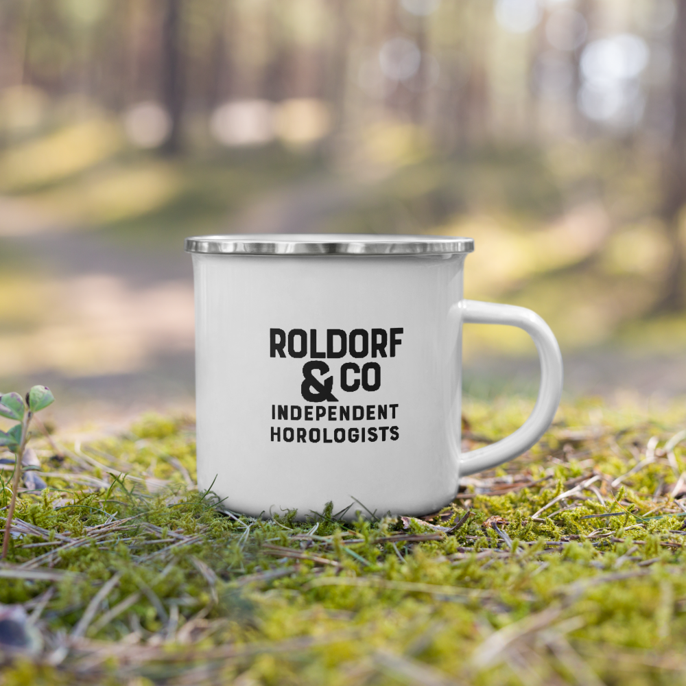 The Roldorf & Co. Enamel Mug