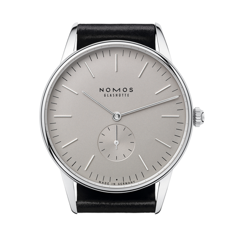 NOMOS  Orion38  grau  Glass Back REF: 383