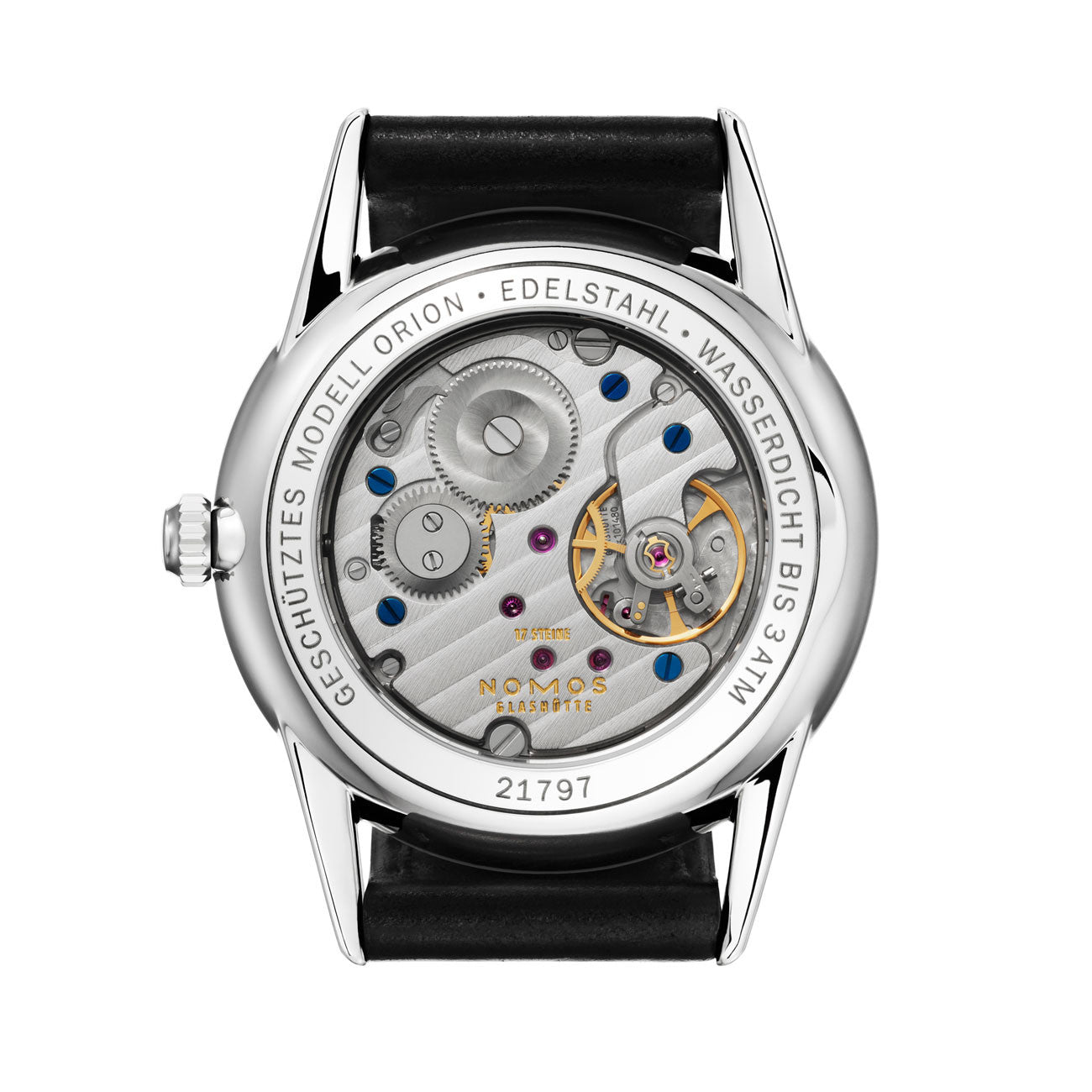 NOMOS  Orion anthazit REF: 307
