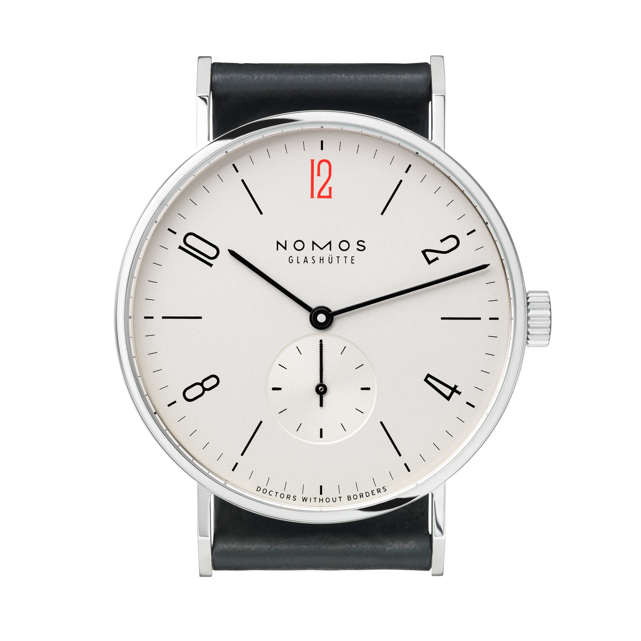 NOMOS Tangente 38 for Doctors Without Borders USA REF:  164.S2