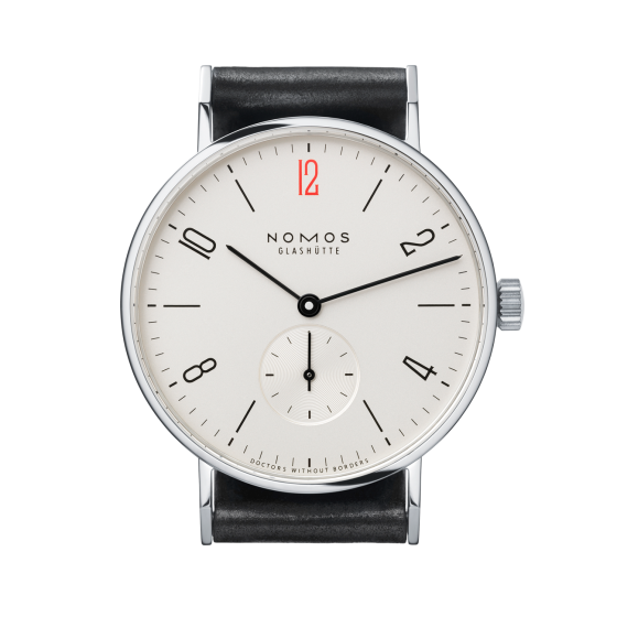NOMOS Tangente for Doctors Without Borders UK REF:  139.S8