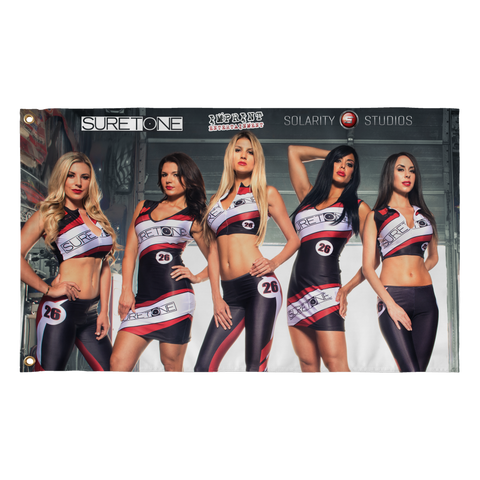 Solarity Studios - Suretone Grid Girls Flag