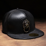 Digiwear - Lionhearted Knock Python Snapback Hat - Carbon Fiber Gear - Digicarbon