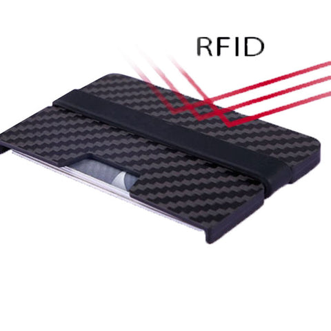 Digicarbon - 100% Carbon Fiber Gear RFID Blocking Slim Wallet - Carbon Fiber Gear - Digicarbon