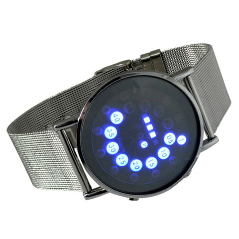 Digiwear - Hi Tech Stainless Steel Digital Watch - Carbon Fiber Gear - Digicarbon