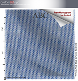 Copy of Blue Dots, 100% Cotton, Men's Monogrammed Custom Tailored Shirt (#CC126)