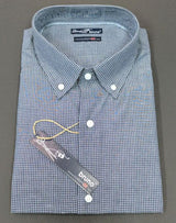 Black Check #cc4, 100% Cotton, Men's Monogrammed Custom Tailored Dress Shirt