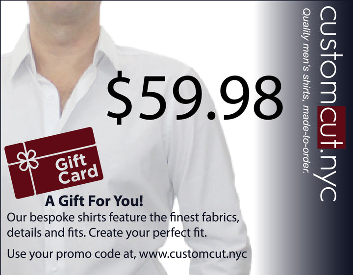Gift Certificate  $59.98 (The Certificate is Sent Immediately!!)