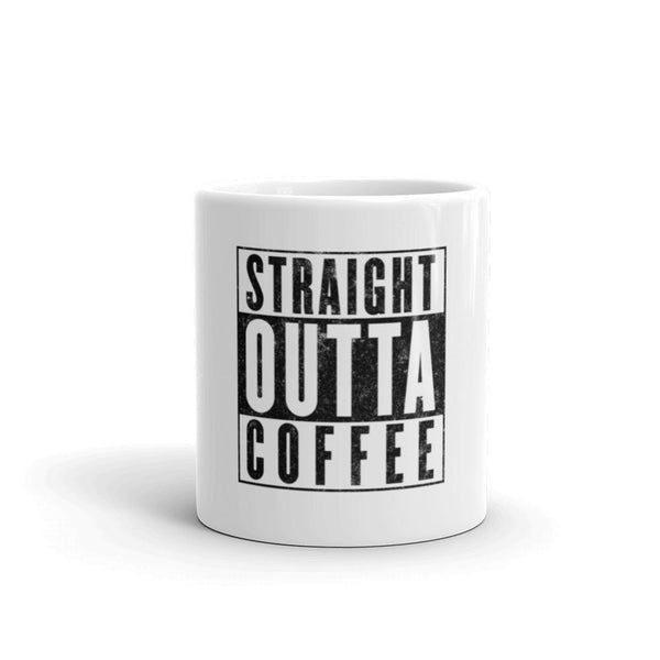 Straight Outta Coffee Mug - Teeopia | T-shirt Utopia