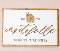 small business logo sign