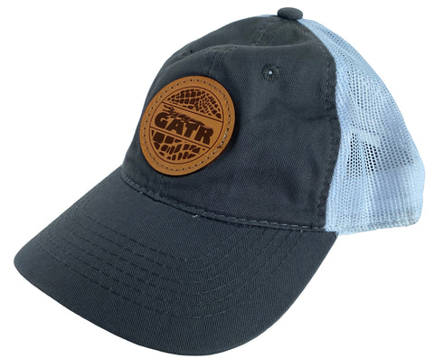 Classic GATR Logo Leather Patch Hat Options