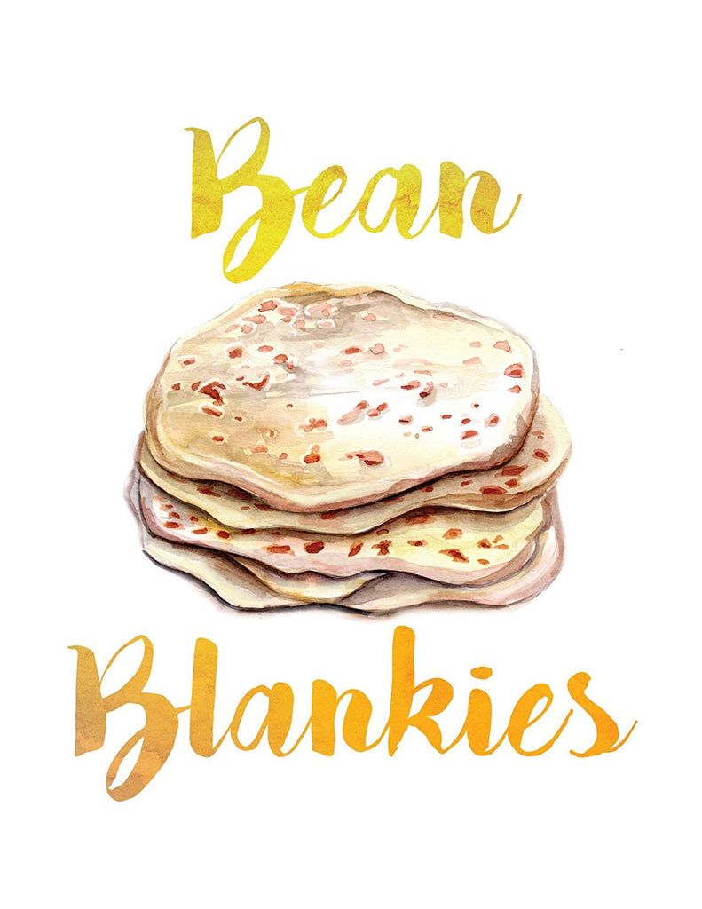 Home Print | Bean Blankies | Haverford Words For Things | Tortillas | Wall Decor