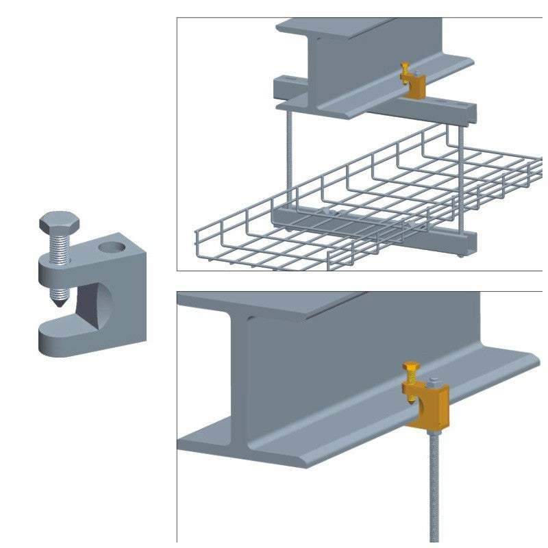I-Beam Mounting Clamp - Timberwolf Supply