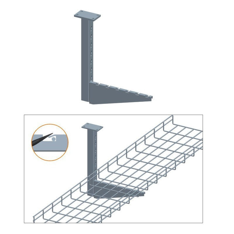 Flag Ceiling Bracket - Timberwolf Supply