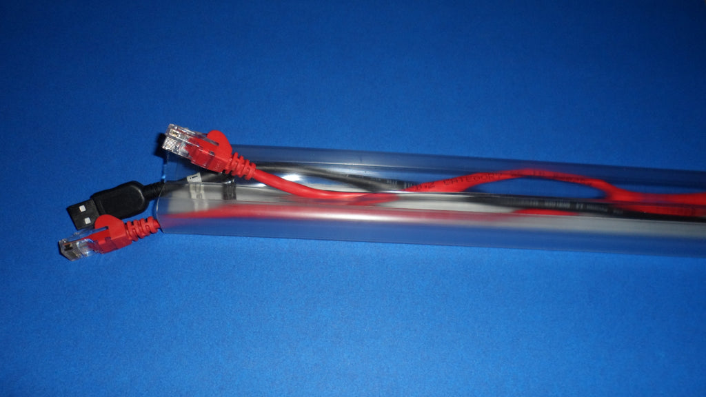 "ClearView 1/2"" Wirehider® Raceway"